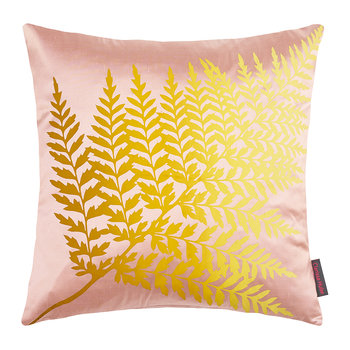 Fern Ombre Pillow - 45x45cm - Oyster/Quince