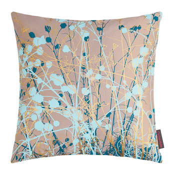 Mystras Pillow - 45x45cm - Kingfisher/Peacock/Duck Egg/Gold