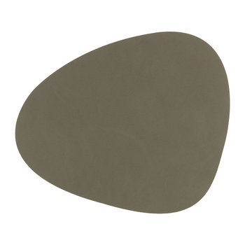 Table Mat Curve - Army Green