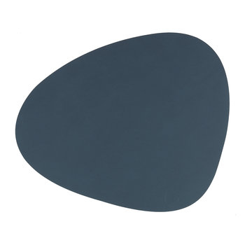 Curve Table Mat - Dark Blue