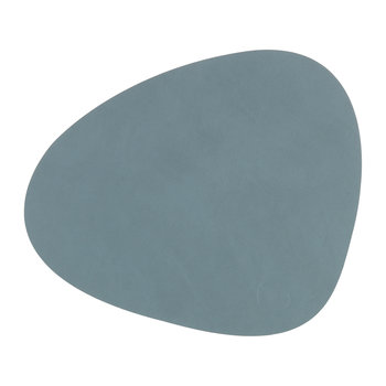 Curve Table Mat - Light Blue
