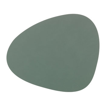 Curve Drinks Coaster - Pastel Green
