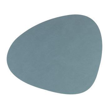 Curve Drinks Coaster - Light Blue