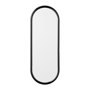Angui Oval Mirror - 29x78cm - Black