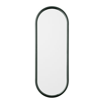 Angui Oval Mirror - 29x78cm - Forest
