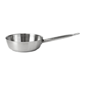 Conical Saute Pan - Stainless Steel