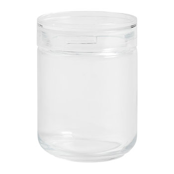 Stackable Japanese Glass Jar - Medium