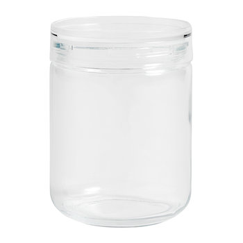 Stackable Japanese Glass Jar - Large