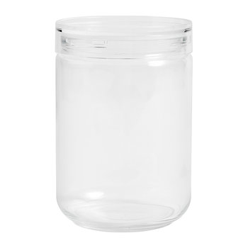 Stackable Japanese Glass Jar - Extra Large