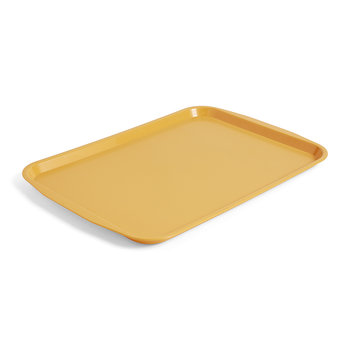 Plastic Canteen Tray - Large - Yellow