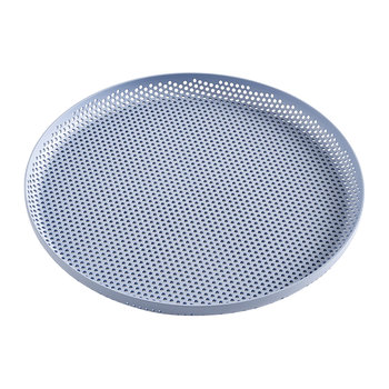 Perforated Aluminum Tray - Medium - Light Blue