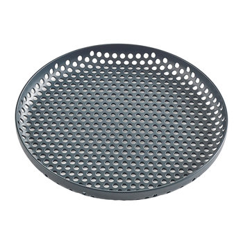 Perforated Aluminium Tray - Small - Dark Green