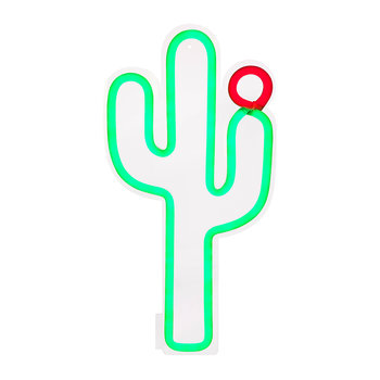 Neon LED Wall Light - Cactus