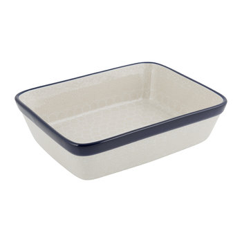 Rectangular Oven Dish - White Lace