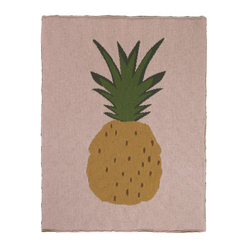 Knitted Fruiticana Baby Blanket - Pineapple