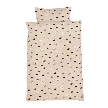 Rabbit Duvet Set - Rose - Single