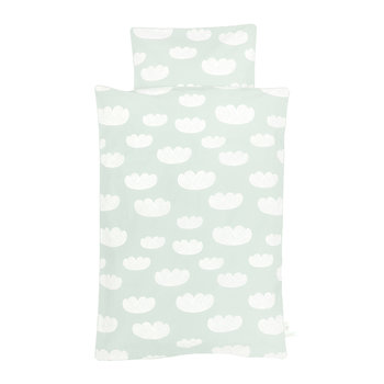 Cloud Duvet Cover Set - Mint - Single