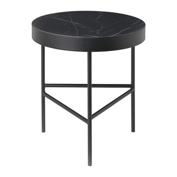 Marble Table - Medium - Black Marquina