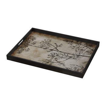 Slate Dill Glass Tray - Rectangular - Small