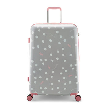 Limited Edition Vintage Dog Dot Suitcase - Ash