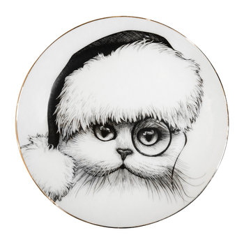 Perfect Plates - Christmas Cat