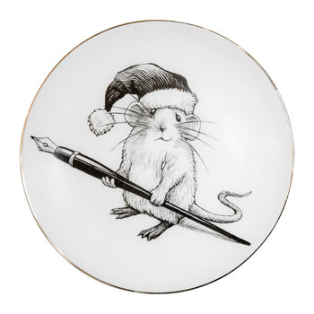 Perfect Plates - Christmas Mouse