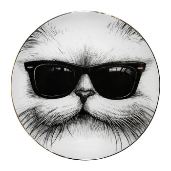 Assiettes Parfaites - Chat Cool