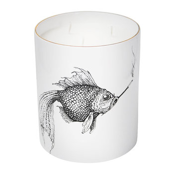 Supersize Candle - Smokey Fish
