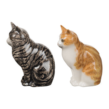 Moggy Salt & Pepper Shakers - Patience & Squash