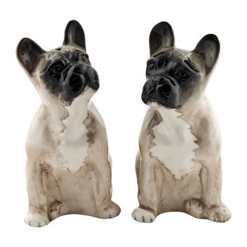 French Bulldog Salt & Pepper Shakers - Fawn