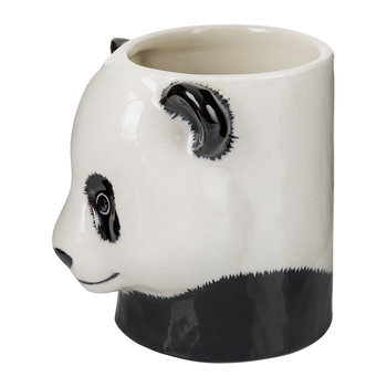 Ceramic Panda Pen Pot