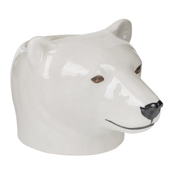Coquetier ours polaire
