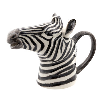 Ceramic Zebra Pitcher