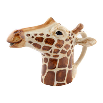 Ceramic Giraffe Pitcher