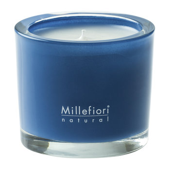 Scented Candle in a Jar - Cold Water - Blue - 180g