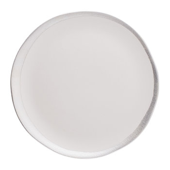 Reflets D'Argent Side Plate - White