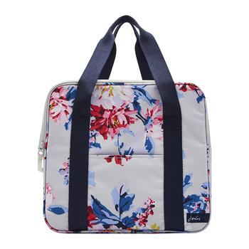 Floral Cool Bag - Grey Whitstable