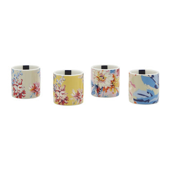 Dippy Egg Cups - Whitstable Floral - Set of 4