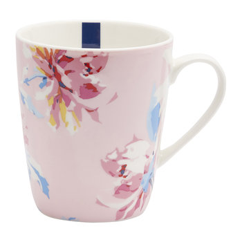 Whitstable Floral Fine China Mug - Pink