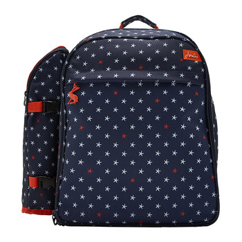 Four Person Picnic Rucksack - Star Fish