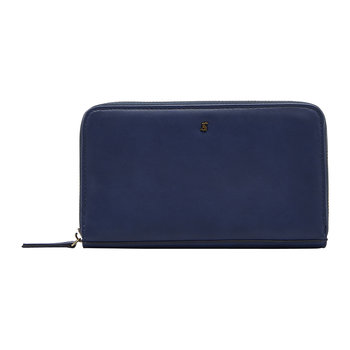 Fairford Bright Purse - French Navy - Smooth