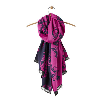 Jacquelyn Reversible Scarf - Pink Poppy