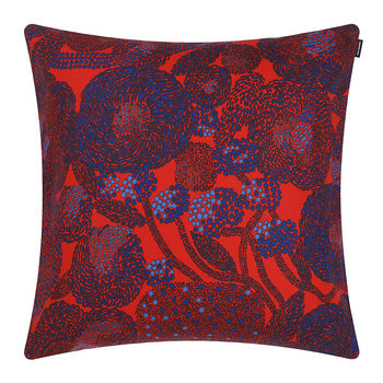 Mynsteri Pillow Cover - 50x50cm - Red/Blue