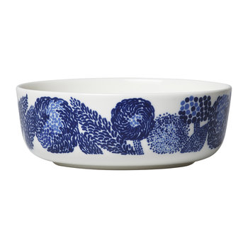 Oiva/Mynsteri Bowl - White/Blue