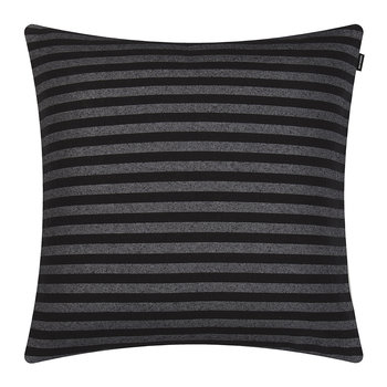 Tasaraita Pillow Cover - 50x50cm - Black/Gray