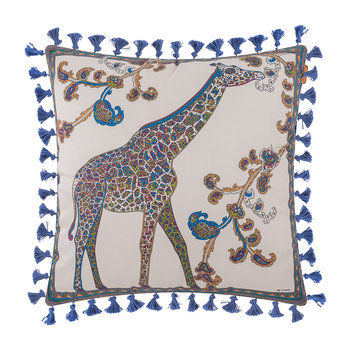 Mowgli Tassel Edged Animal Cushion - 45x45cm - Design 3