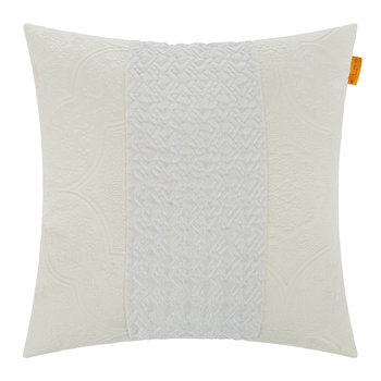 Hammond Cushion - 45x45cm - Ivory