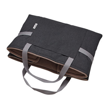 Waterproof Foldable Travel Dog Bed - Graphite