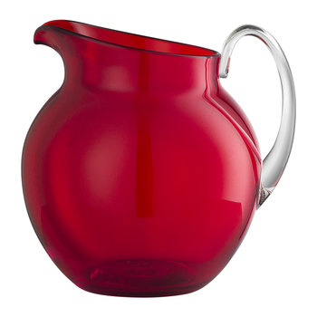 Plutone Acrylic Pitcher - Red