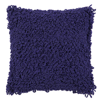 Boucle Pillow - 45x45cm - Electric Blue